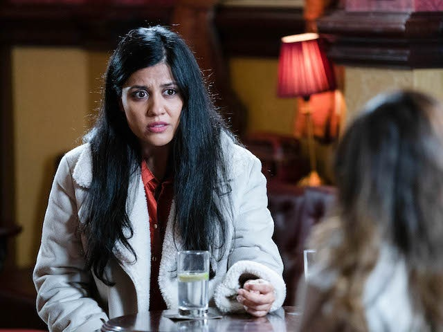 Ash on EastEnders on October 20, 2020