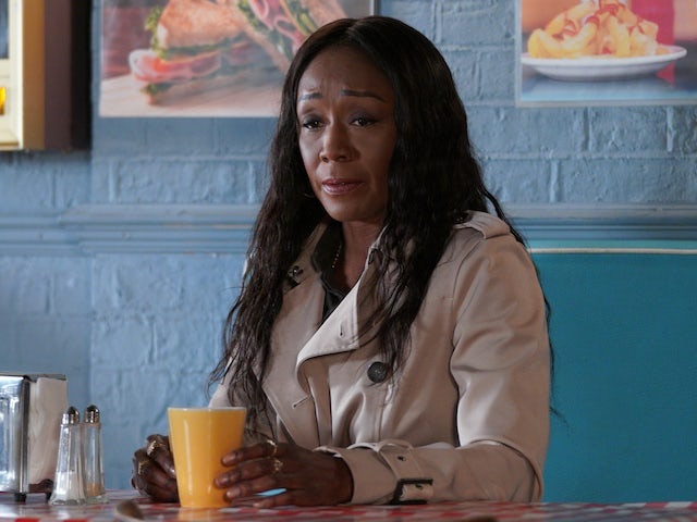 Denise on EastEnders on October 15, 2020