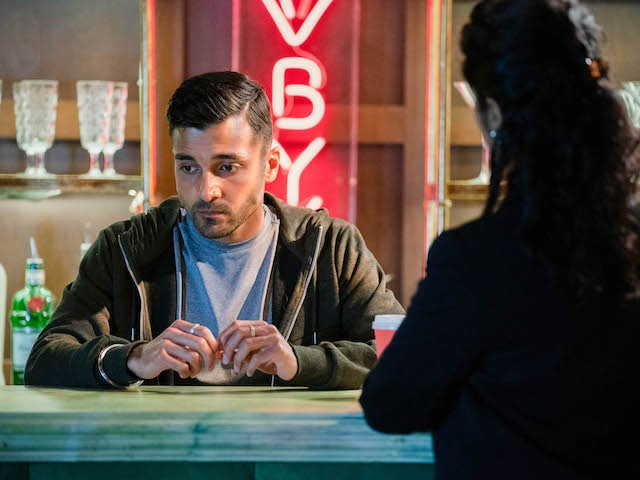 Vinny on EastEnders on October 20, 2020