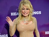 Dolly Parton pictured on October 29, 2019