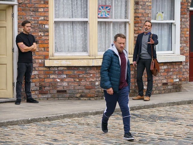 Paul on the second episode of Coronation Street on October 19, 2020