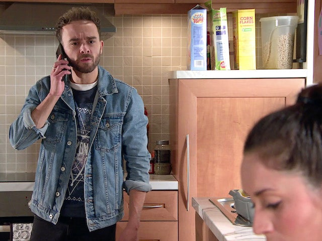 David on Coronation Street's first episode on October 12, 2020