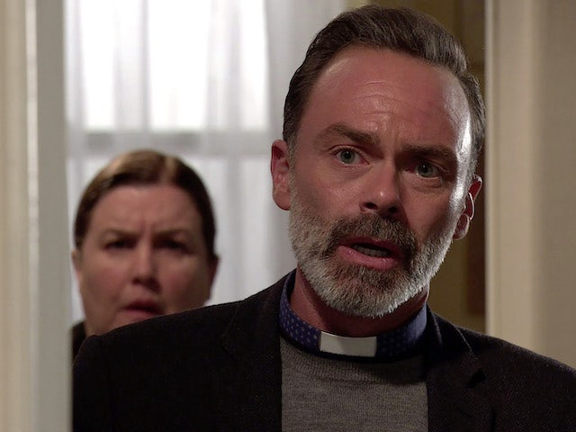 Billy on the first episode of Coronation Street on October 19, 2020