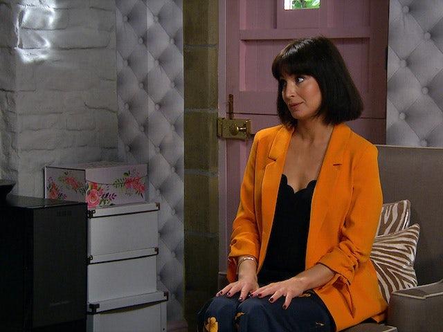 Leyla on Emmerdale on October 16, 2020