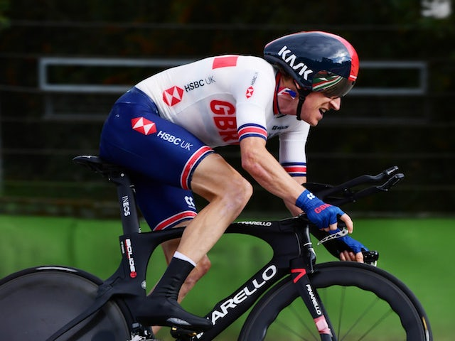 Geraint Thomas turns attention to time trial after road race crash