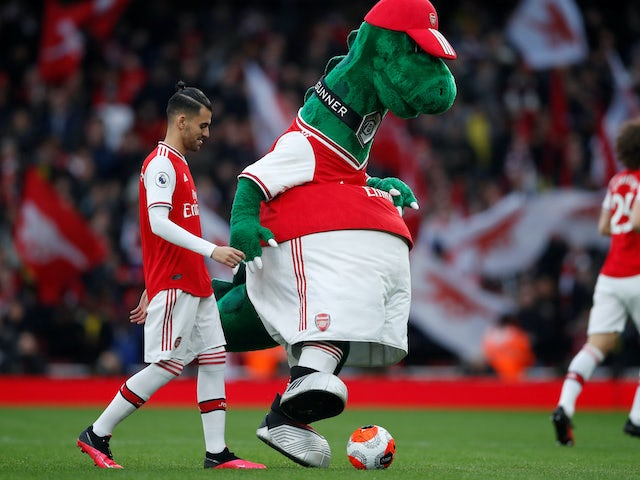 Arsenal mascot Gunnersaurus to continue matchday role once supporters return