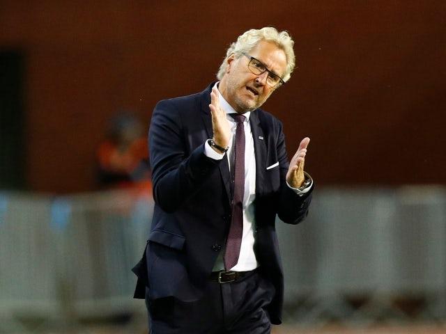 Iceland manager Erik Hamren pictured in September 2020
