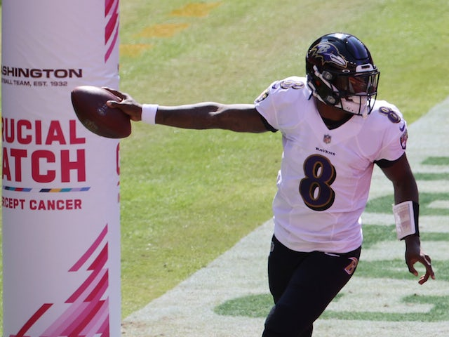Result: Lamar Jackson makes history as Baltimore Ravens down Washington