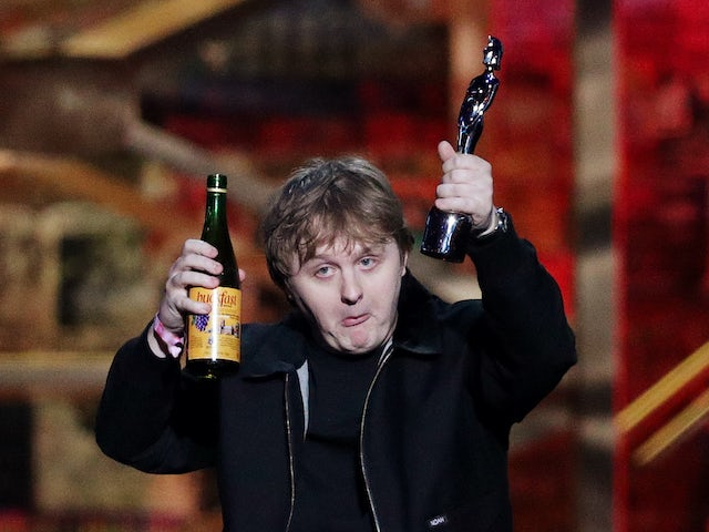 Lewis Capaldi boasts about