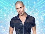 Max George on the 2020 series of Strictly Come Dancing