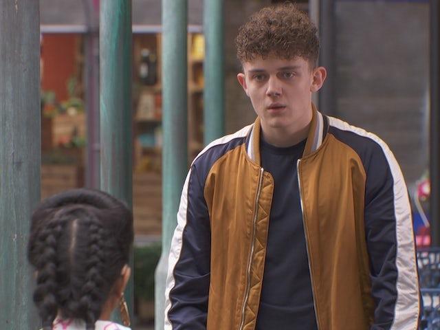Tom on Hollyoaks on October 13, 2020