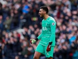Tottenham Hotspur goalkeeper Paulo Gazzaniga pictured in March 2020