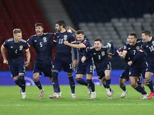 David Marshall 'relieved' after Scotland's penalty shootout win against Israel