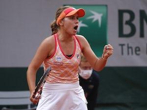 Sofia Kenin overcomes Petra Kvitova in straight sets to reach French Open final