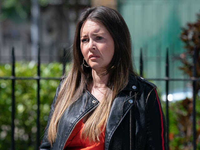 Stacey on EastEnders on October 12, 2020