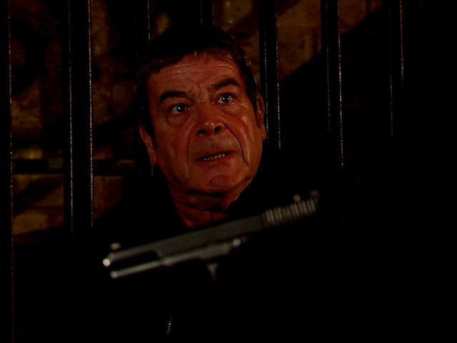 Johnny on the first episode of Coronation Street on October 26, 2020