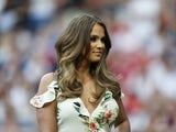 Vicky Pattison pictured at Soccer Aid in June 2016