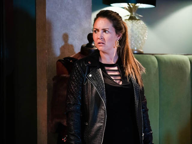 Stacey on EastEnders on October 20, 2020