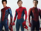 A triumvirate of Spider-Men