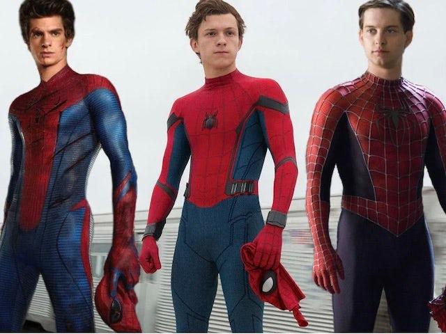 A triumvirate of Spider-Men