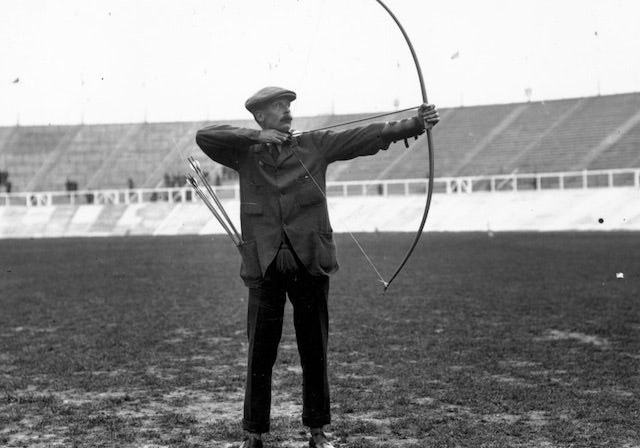 Six British archers who had success at the Olympics