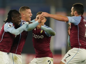 Aston Villa maintain perfect start with late win at Leicester