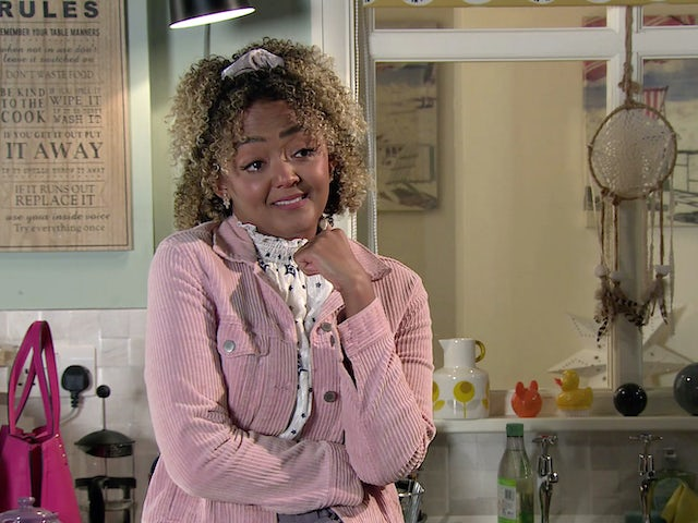 Emma on the second episode of Coronation Street on November 4, 2020