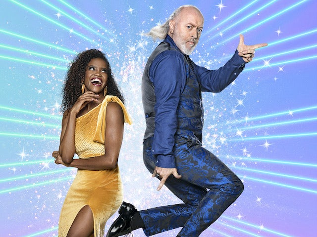 Bill Bailey and Oti Mabuse on Strictly Come Dancing 2020