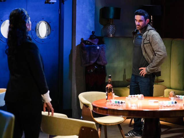 Suki and Kush on EastEnders on October 30, 2020