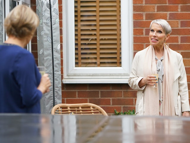 Debbie and Sally on the second episode of Coronation Street on November 4, 2020