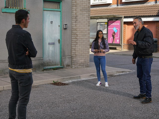 Dev lays down the law on the second episode of Coronation Street on November 4, 2020