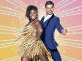 Clara Amfo and Aljaz Skorjanec on Strictly Come Dancing 2020