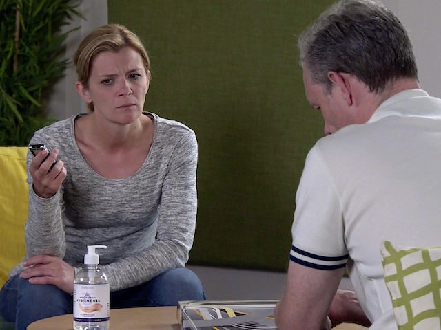 Leanne on the first episode of Coronation Street on November 6, 2020