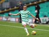 Diego Laxalt pictured for Celtic against Rangers on October 17, 2020