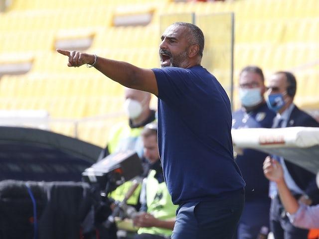 Parma manager Fabio Liverani pictured in October 2020