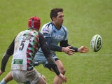 Gavin Henson in action for Cardiff Blues against Harlequins in February 2012