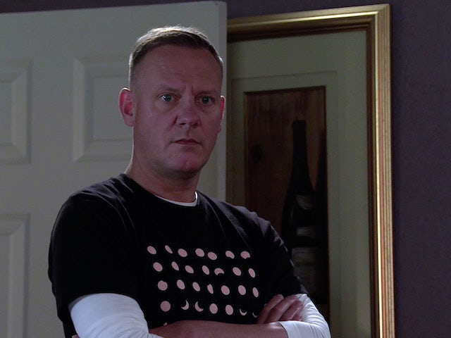 Sean on the second episode of Coronation Street on November 6, 2020