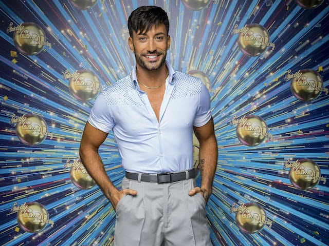 Giovanni Pernice for Strictly Come Dancing 2020