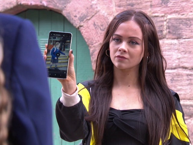 Juliet on Hollyoaks episode 5456