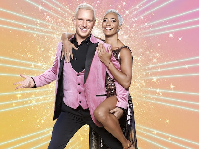 Jamie Laing and Karen Hauer on Strictly Come Dancing 2020