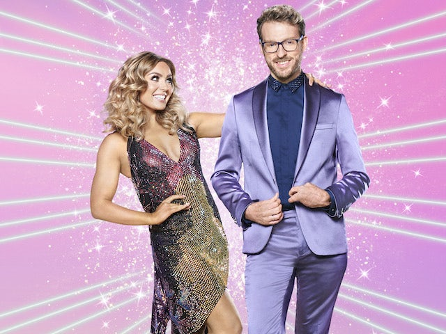 JJ Chalmers and Amy Dowden on Strictly Come Dancing 2020