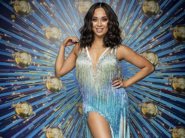 Katya Jones for Strictly Come Dancing 2020