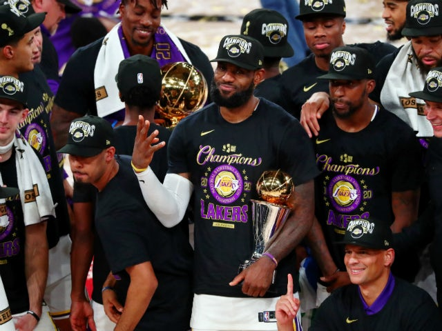 Result: Los Angeles Lakers win first NBA title in a decade with victory over Miami Heat