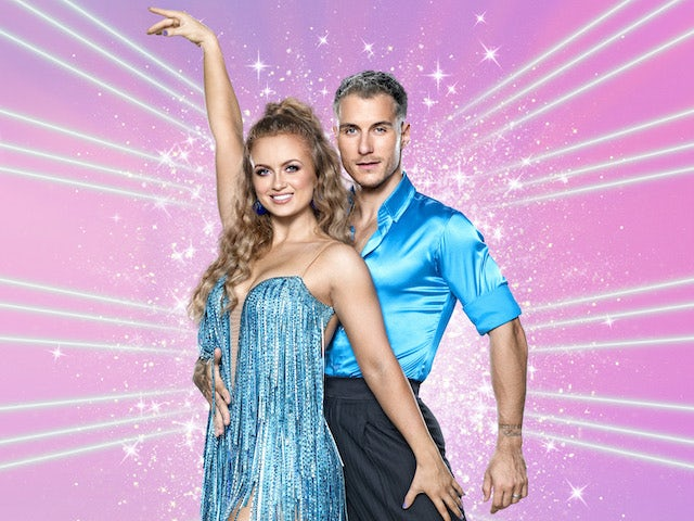 Maisie Smith and Gorka Marquez on Strictly Come Dancing 2020