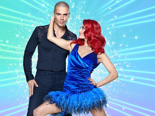 Max George and Dianne Buswell on Strictly Come Dancing 2020