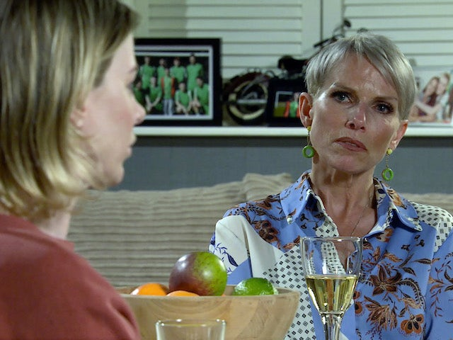 Debbie on the second episode of Coronation Street on November 2, 2020