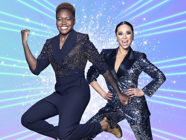 Nicola Adams and Katya Jones on Strictly Come Dancing 2020