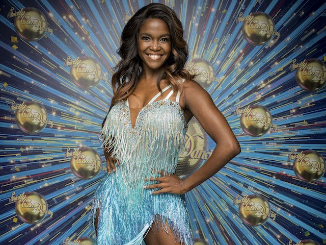 Oti Mabuse for Strictly Come Dancing 2020