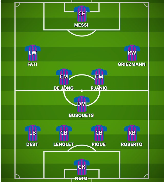 POSS BAR XI vs. GET