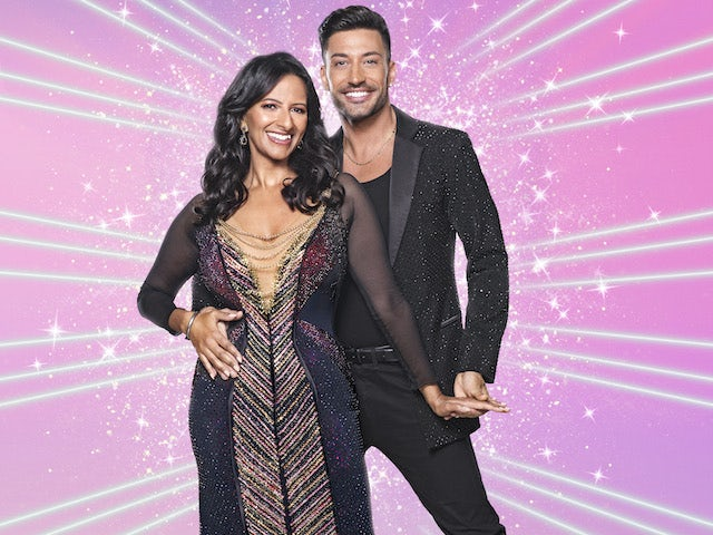 Ranvir Singh and Giovanni Pernice on Strictly Come Dancing 2020